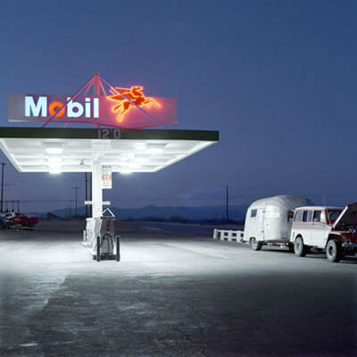 Mobil/Trailer Inyokern, California 1991<p>© Jeff Brouws</p>