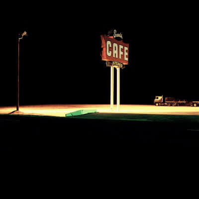 Sands Cafe, Vega, Texas 1993<p>© Jeff Brouws</p>