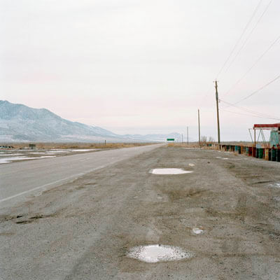 Rowley Junction Utah, 1995<p>© Jeff Brouws</p>