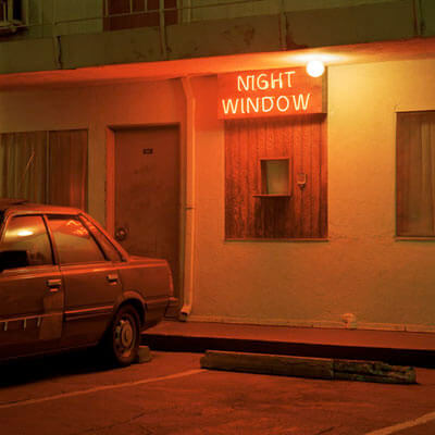 Night Window, Los Angeles, California 2000<p>© Jeff Brouws</p>
