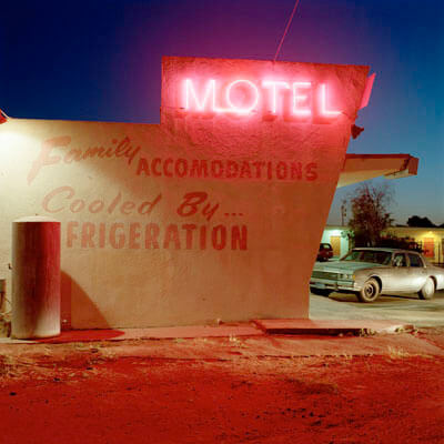 Motel Fresno, California, 1993<p>© Jeff Brouws</p>