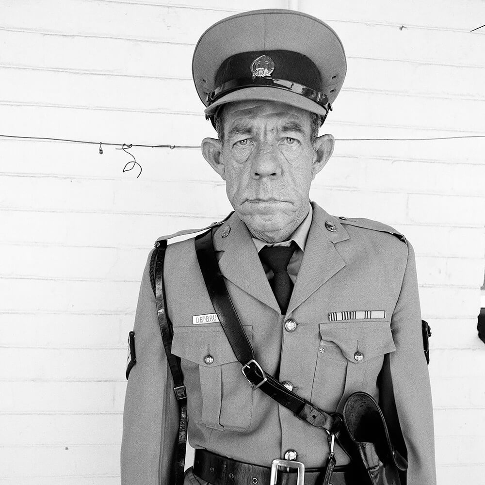 Roger Ballen - Sergeant F de Bruin, Dept of Prison Employees, OFS, 1992