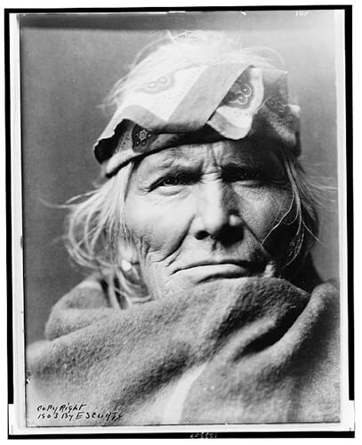 Edward S. Curtis - Si Wa Wata Wa 1903 ©Library of Congress, Prints & Photographs Division, Edward S. Curtis Collection