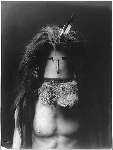 Edward S. Curtis - Haschebaad-Navaho 1905 ©Library of Congress, Prints & Photographs Division, Edward S. Curtis Collection