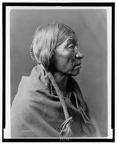 Edward S. Curtis - Cheyenne profile 1910 ©Library of Congress, Prints & Photographs Division, Edward S. Curtis Collection