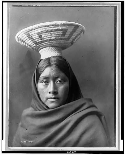 Edward S. Curtis - Papago Indian, Luzi 1907 ©Library of Congress, Prints & Photographs Division, Edward S. Curtis Collection