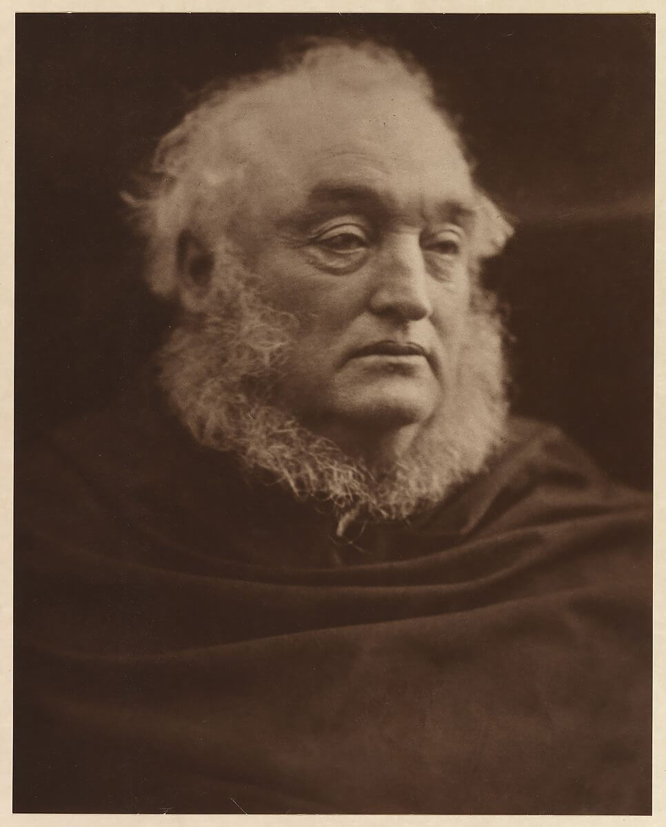 Lord Justice James 1870<p>© Julia Margaret Cameron</p>
