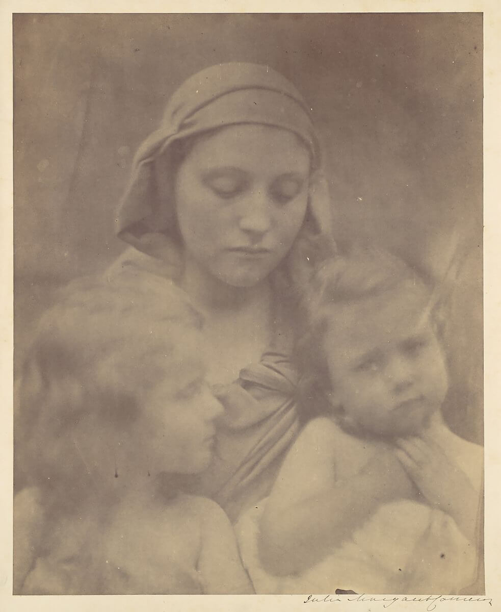 Julia Margaret Cameron - The Angel at the Tomb, 1870
