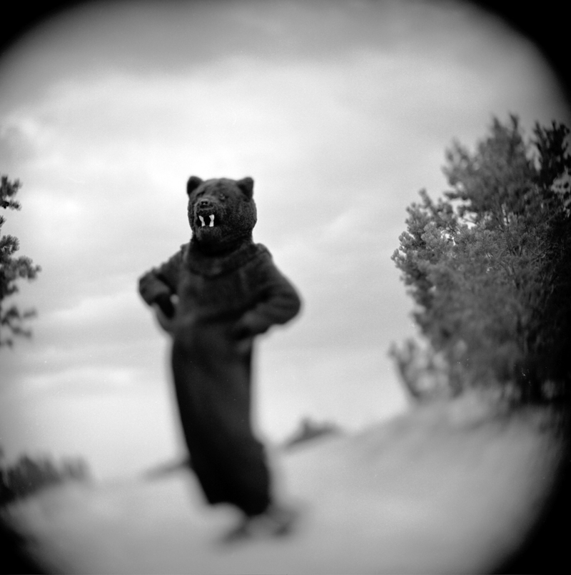 Keith Carter - Keith Carter, Dancing Bear, 2002, Courtesy PDNB Gallery, Dallas, TX