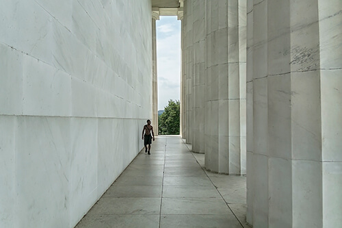 Oliver Curtis - Lincoln Memorial