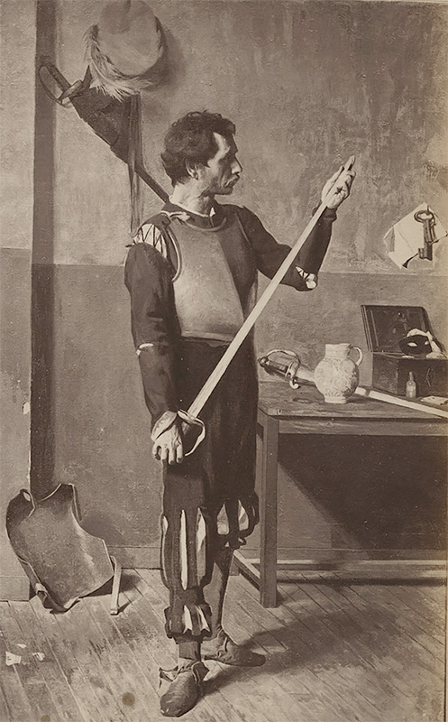 Actor with Sword 1860<p>© André Adolphe-Eugène Disdéri</p>