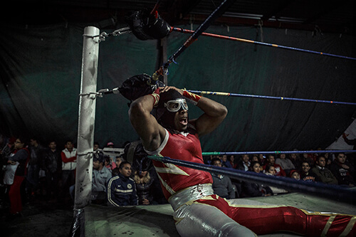 Annick Donkers - Lucha Libre Extrema