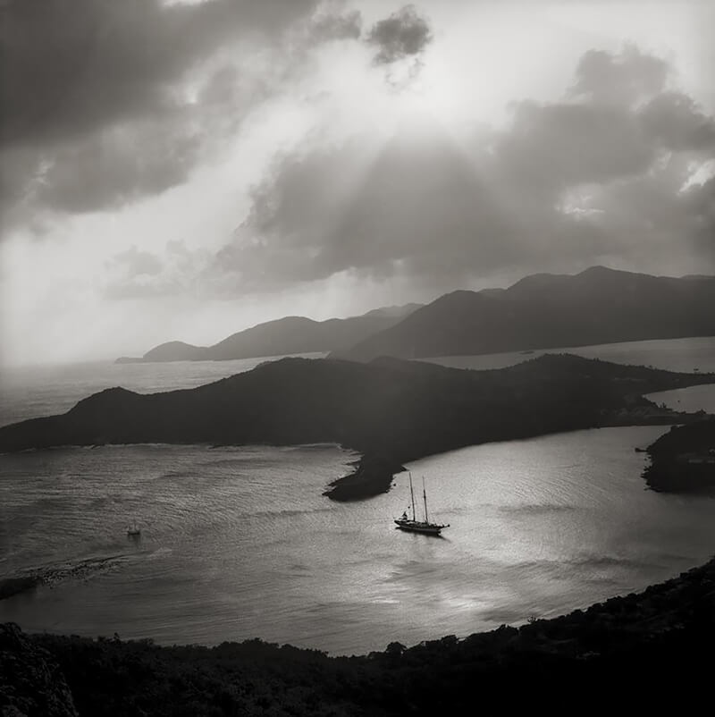 English Harbour from Shirley Heights, Antigua WI<p>© Margo Davis</p>
