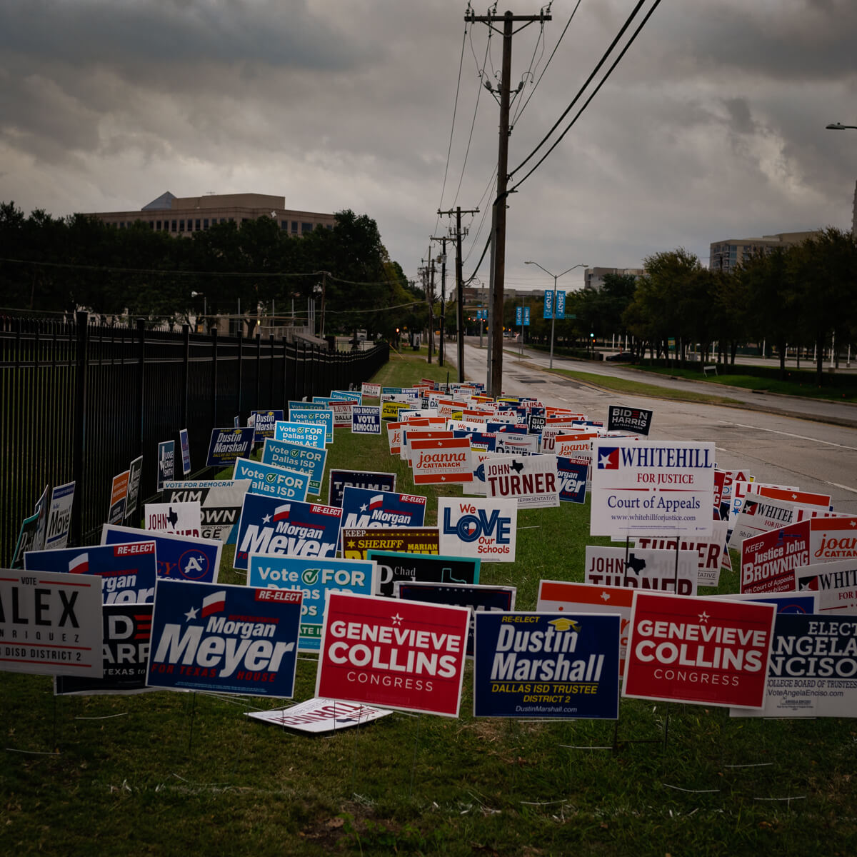 Campaign Signs<p>© Norm Diamond</p>