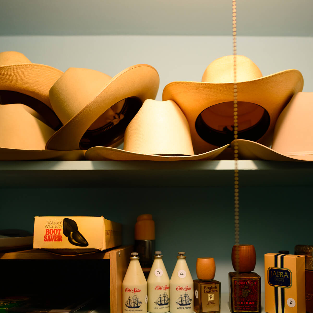 Stetson and Old Spice<p>© Norm Diamond</p>