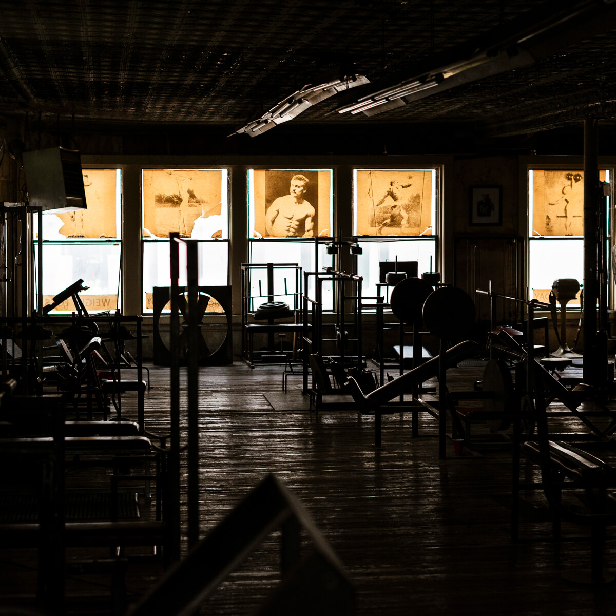 Front Windows Doug's Gym<p>© Norm Diamond</p>