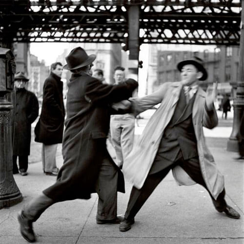 Elliott Erwitt - New York. 1950