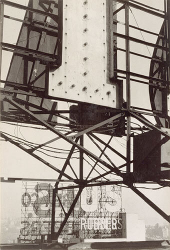 Signs, New York 1928–30<p>© Walker Evans</p>