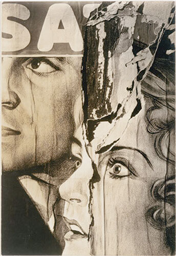 Torn Movie Poster, 1931<p>© Walker Evans</p>