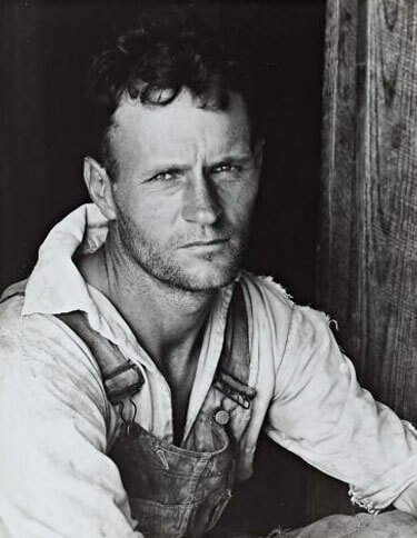 Alabama Tenant Farmer, 1936<p>© Walker Evans</p>