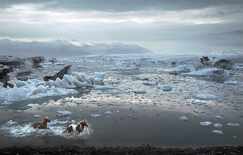 Icelandic Lagoon<p>Courtesy Peter Bailey Production / © Tim Flach</p>