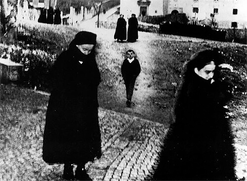 Mario Giacomelli - Giacomelli Boy From Scanno 1957-1959