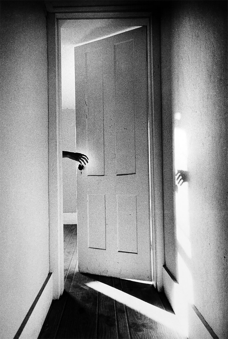Ralph Gibson - Hand on Door from the Som­nam­bu­list series 1968