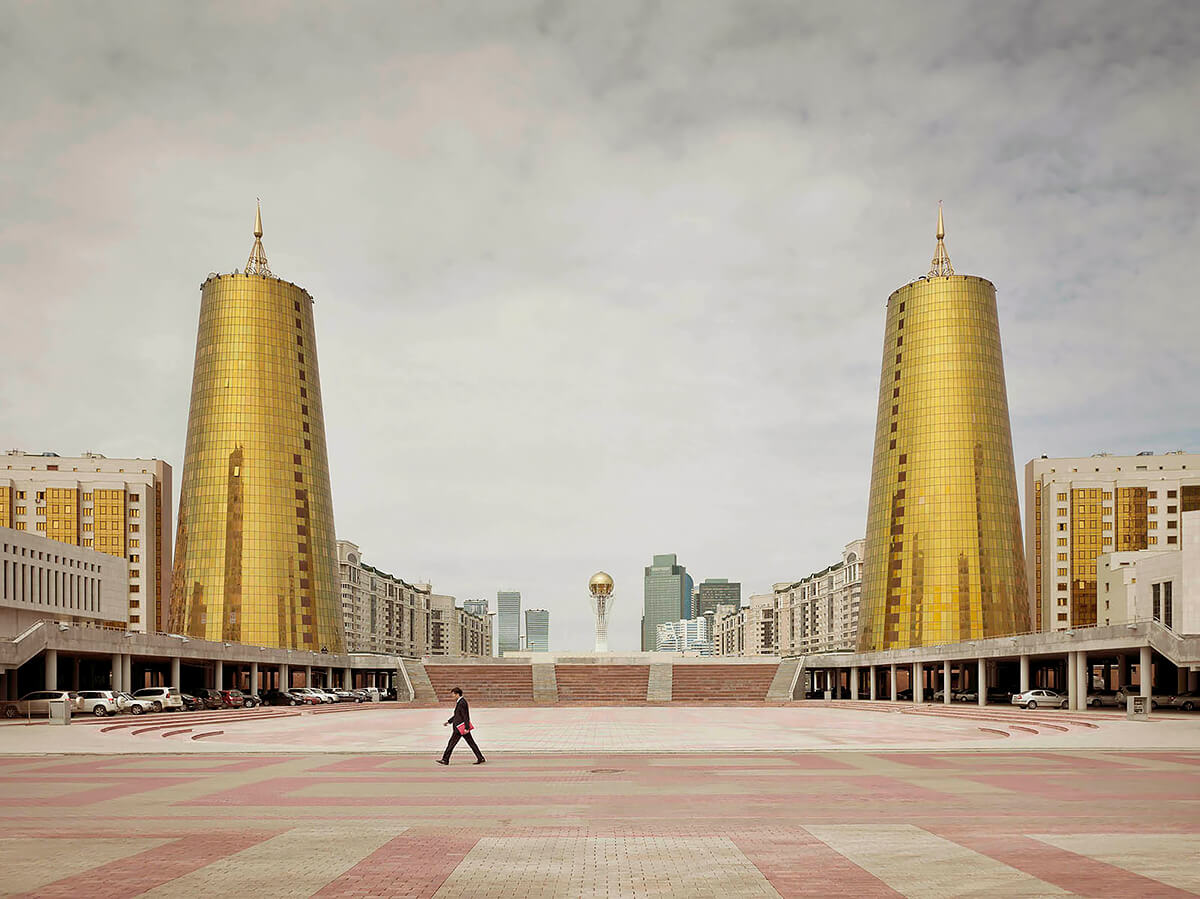 Ministry Buildings Astana 2013<p>© Frank Herfort</p>