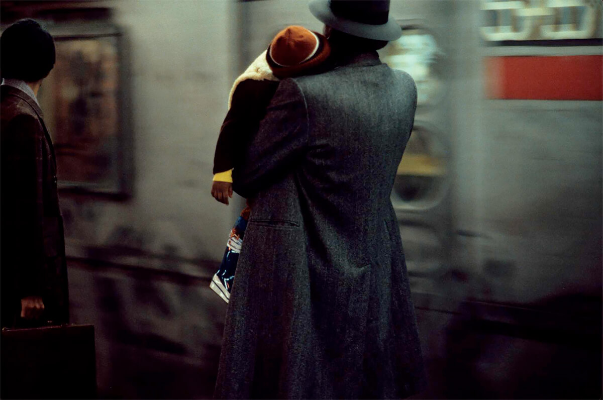 1984, New York, old lady<p>© Frank Horvat</p>