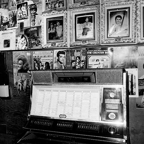 Jukebox, Tootsie's Orchid Lounge, Nashville, TN, 1972<p>© Henry Horenstein</p>