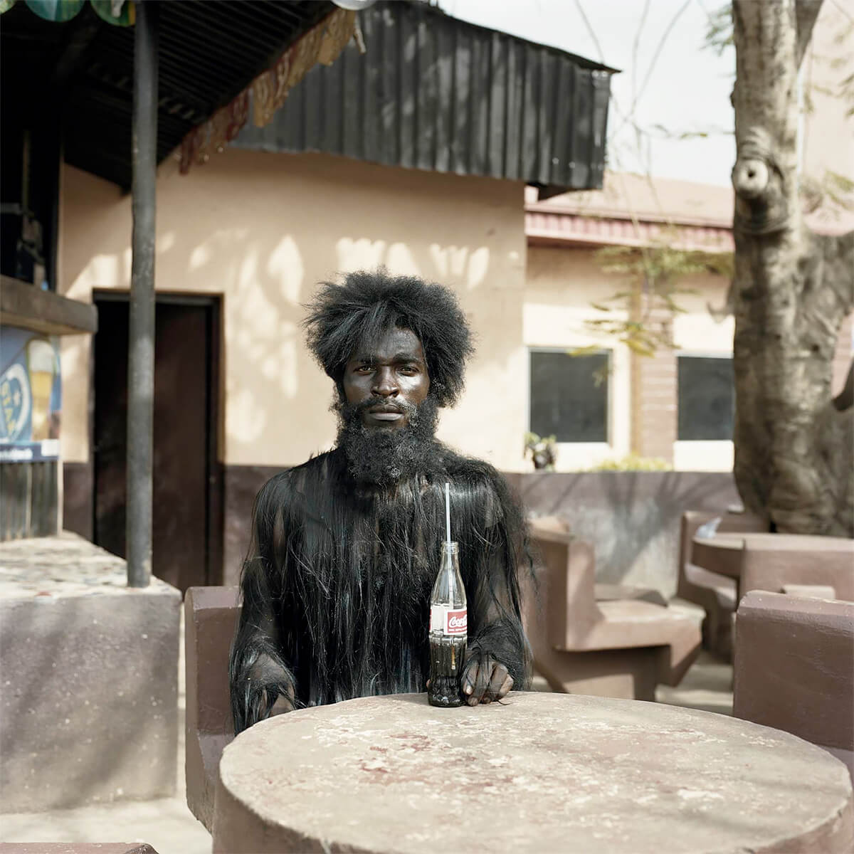 Pieter Hugo - From the series Nollywood, Emeka Uzzi, Enugu, Nigeria, 2009 - Digital C-Print ©Pieter Hugo, Courtesy Yossi Milo Gallery
