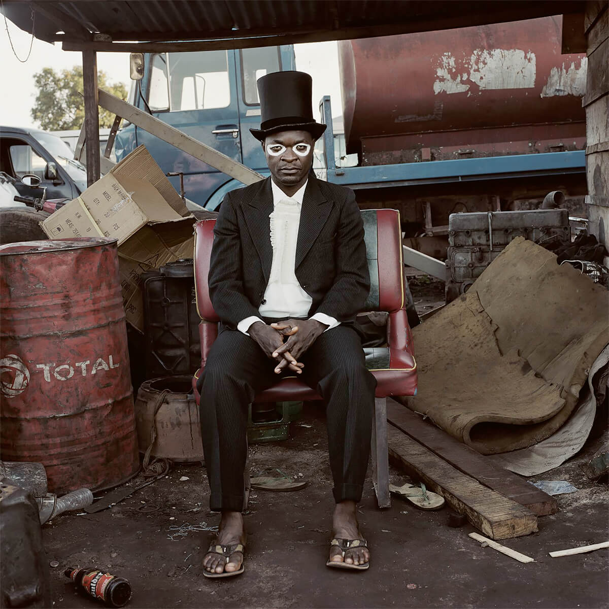 Pieter Hugo - From the series Nollywood, Emeka Onu, Enugu, Nigeria, 2008 - Digital C-Print ©Pieter Hugo, Courtesy Yossi Milo Gallery