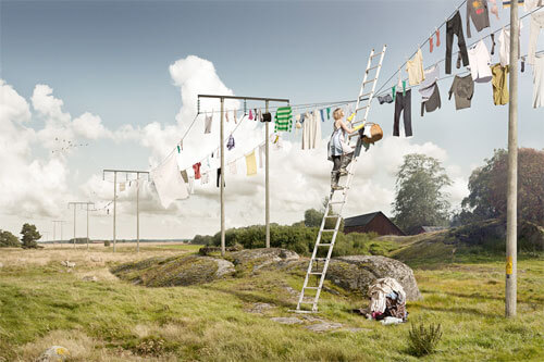 Big laundry day<p>© Erik Johansson</p>