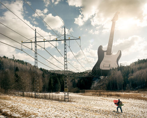 Electric guitar<p>© Erik Johansson</p>