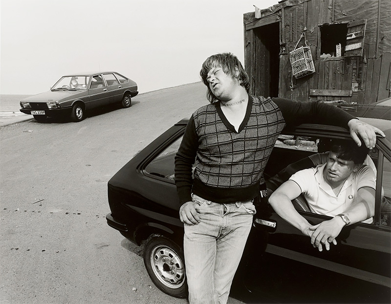 Bever's First Day Out, Skinningrove, North Yorkshire 1982<p>© Chris Killip</p>
