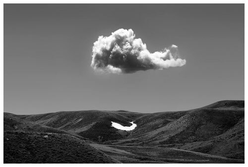 Chuck Kimmerle - The Last Snow Drift, Natrona County, WY