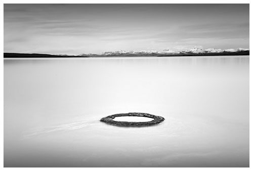 Chuck Kimmerle - Fishing Hole, Yellowstone Lake, Yellowstone National Park