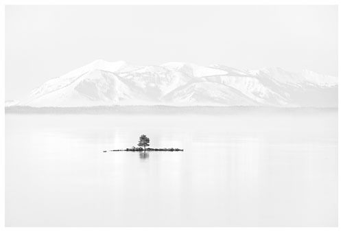 Chuck Kimmerle - Tiny Island, Yellowstone Lake