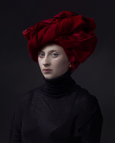 Hendrik Kerstens - Red turban 2015
