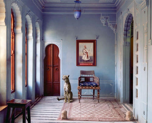 The Maharaja's Apartment, Udaipur City Palace, Udaipur<p>© Karen Knorr</p>