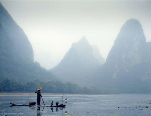 Lisa Kristine - First Rain, Yangshuo