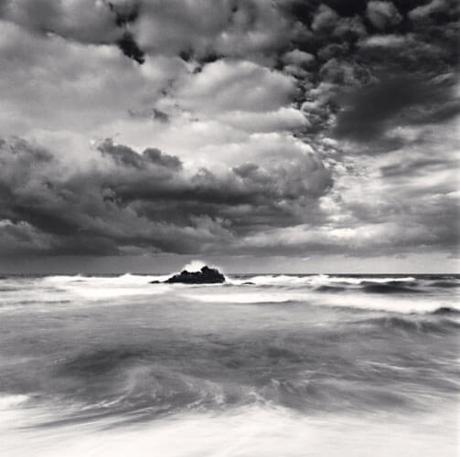 Michael Kenna - East Sea Tide, Hoojeong Beach, Gyeongsangbukdo, South Korea (2010)