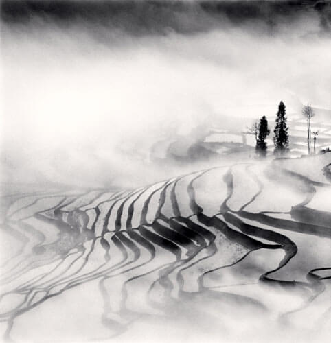 Michael Kenna - Yuanyang, Study 1, Yunnan, China (2013)