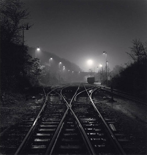 Michael Kenna - Branik Station, Prague, Czechoslovakia, 1992