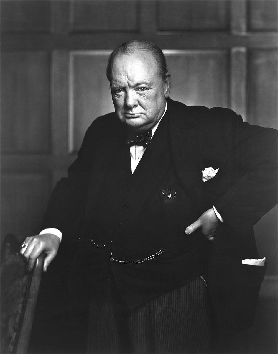Yousuf Karsh - Sir Winston Churchill 1941, Library and Archives Canada