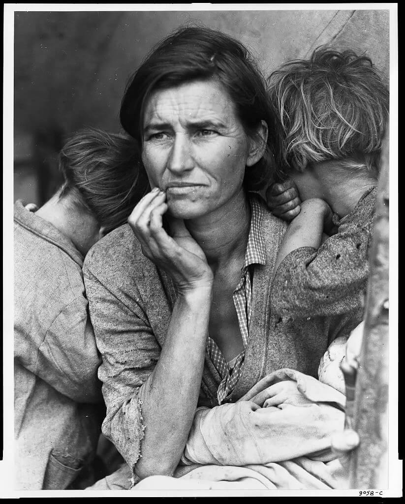 Dorothea Lange - Migrant Mother, Nipomo, California, 1936 © Library of Congress