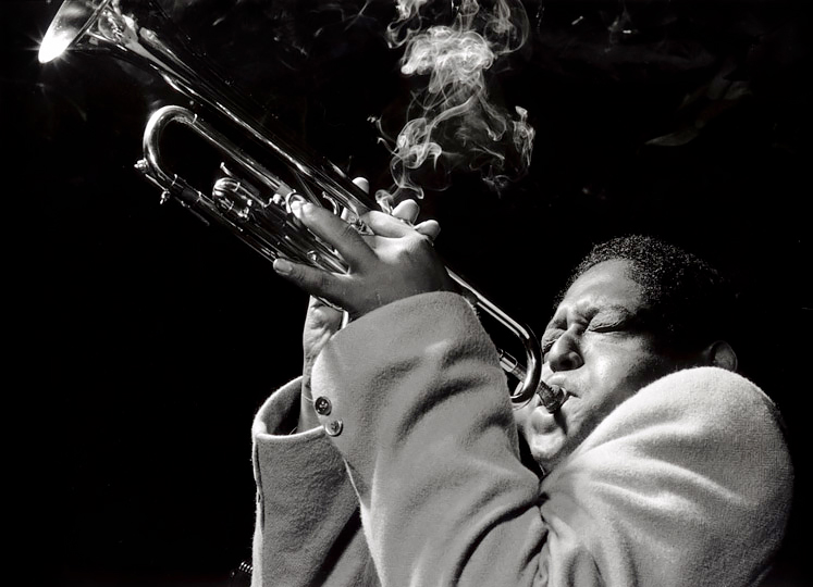 Fats Navarro, Royal Roost, 1948<p>© Herman Leonard</p>
