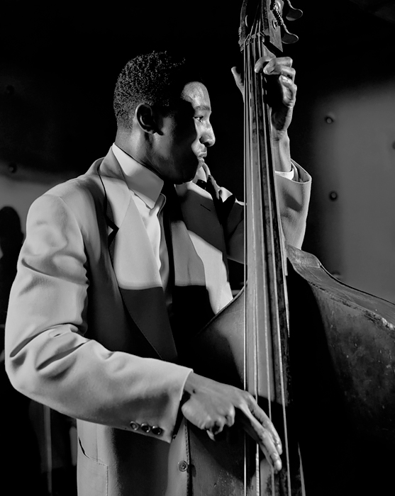 Ray Brown, NYC, 1948<p>© Herman Leonard</p>