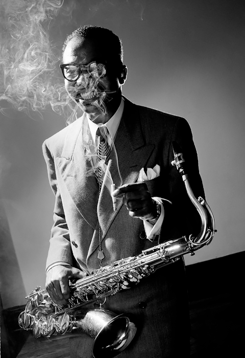 James Moody, NYC, 1951<p>© Herman Leonard</p>