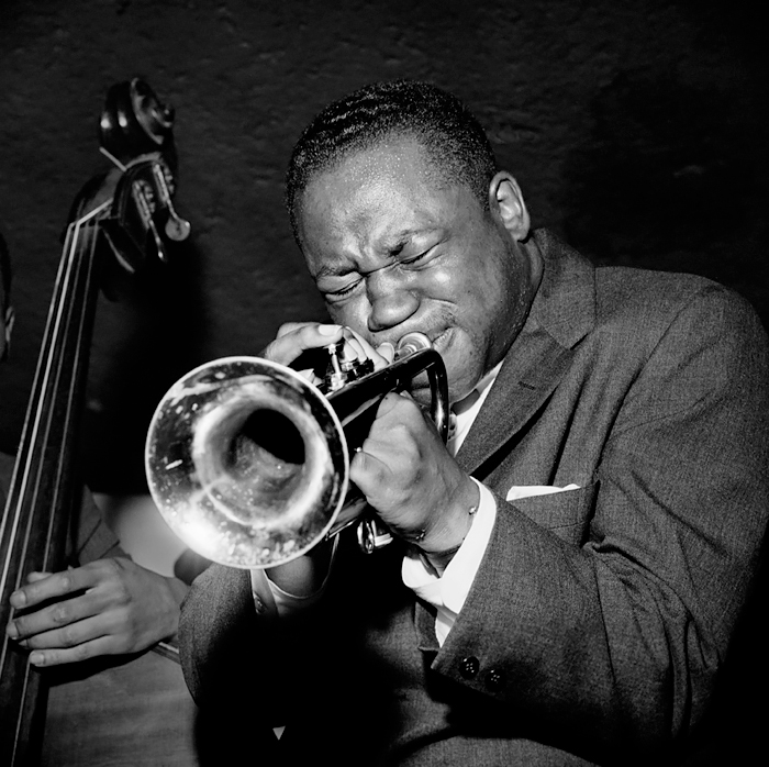 Clifford Brown, NYC, 1954<p>© Herman Leonard</p>